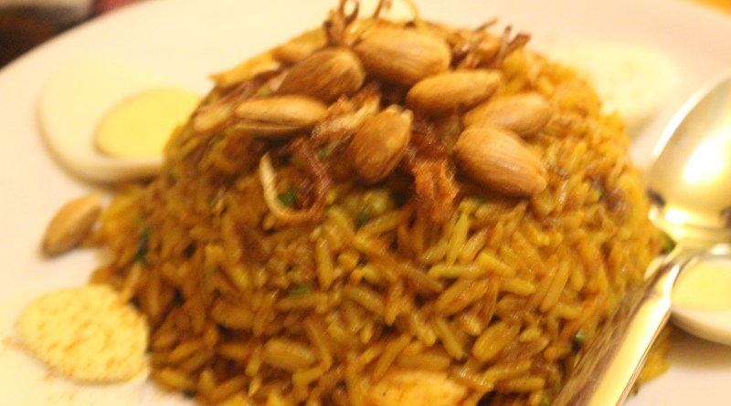 Biryani at Spice Curry House