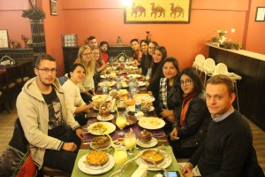 The Entire Group at Spice Curry House