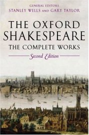 Shakespeare, Tempest (Oxford) or Julius Caesar (Oxford) or Hamlet (Oxford) Macbeth (Oxford);