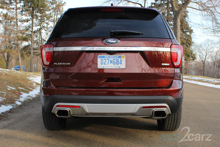 Ratings Crossovers 2016 Ford Explorer Review | Web2carz