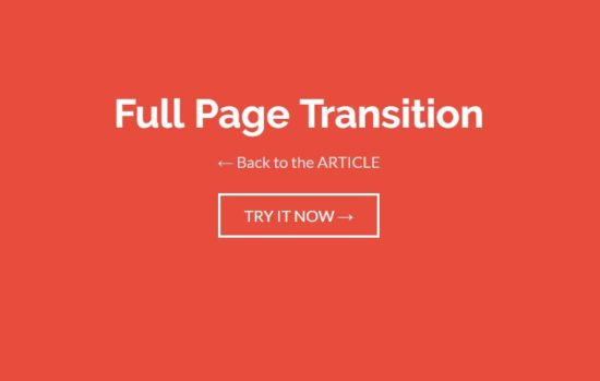 25 Page Transitions Effects Tutorials  jQuery Plugins - Web3mantra