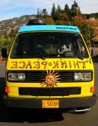 Psychedelic Hippy Vans