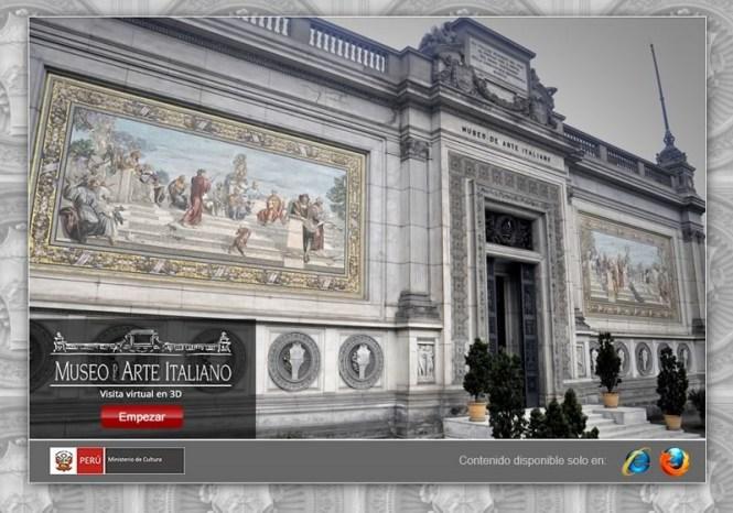 museos del peru visita virtual 3d