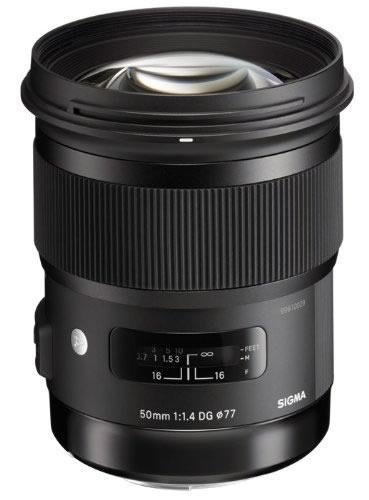 sigma 50mm f1.4 dg hsm art lens