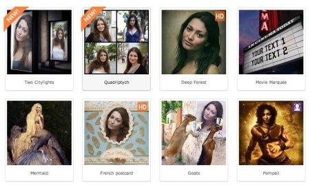 Crea fotomontajes divertidos en Photofunia desde tu computadora o celular