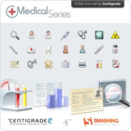 Iconos de medicina gratis
