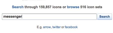 Busca más iconos para tu computadora o página web con IconFinder