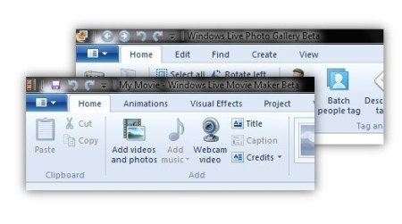 Windows Live Movie Maker añade soporte de captura de video desde webcam