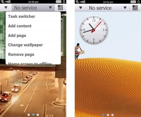 Primera captura del nuevo Symbian 4