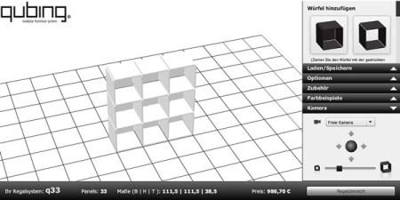 Diseña muebles con un cubo en 3D con Qubing