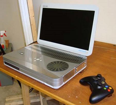 Mod de un Xbox 360 portatil