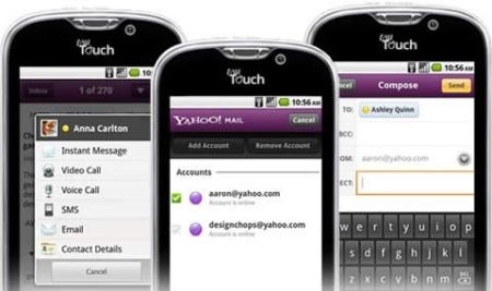 Yahoo mail y messenger para android se actualizan