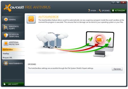 Antivirus gratis avast! 6 ya disponible
