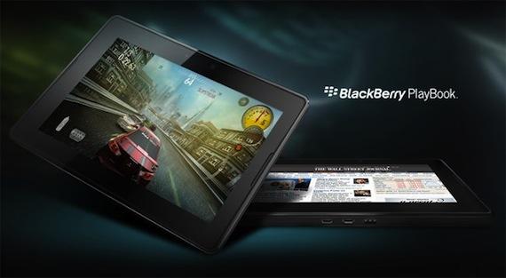 bb playbook 2 Playbook saldrá a la venta sin soporte nativo para correo