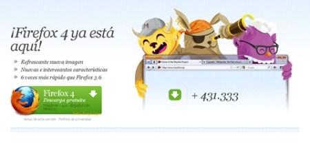 Firefox 4 disponible