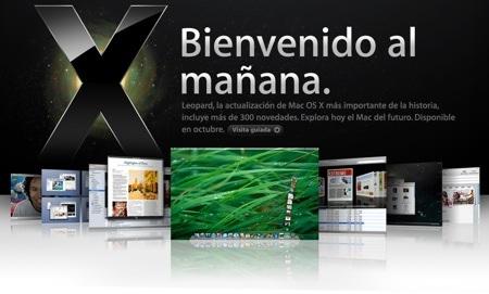 mac os x 105 leopard La historia de Mac OS X en imágenes