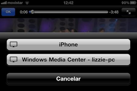 la foto2 Como activar Airplay en Windows Media Center