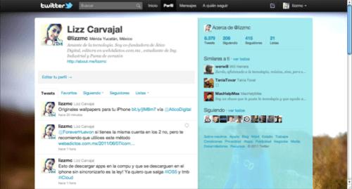 Captura de pantalla 2011 06 10 a las 17.24.59 Como hacer la barra lateral de Twitter totalmente transparente