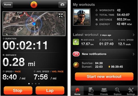 Sport tracker for iphone Apps para correr con la ayuda de tu smartphone