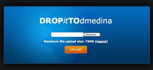 dropittome dropbox Permitir que otros suban archivos a tu Dropbox con DROPitTOme