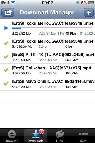 Gestor Download Descarga de todo en tu iPhone con Downloads