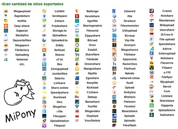 mipony MiPony el gestor de descargas definitivo para Windows