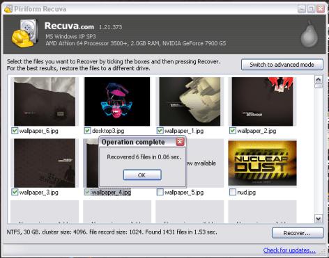 recuva 590x464 Recuperar archivos borrados accidentalmente con Recuva