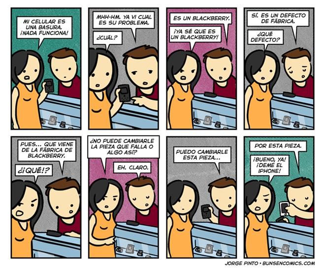 blackberry humor Blackberry, defecto de fábrica [Humor]