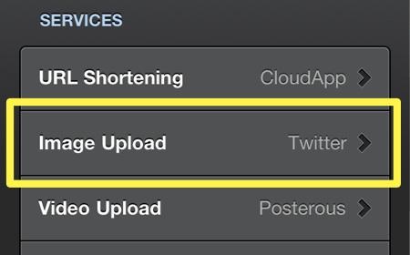 configuracion tweetbot flickr 1 Subir fotos a flickr desde tu cliente de Twitter favorito