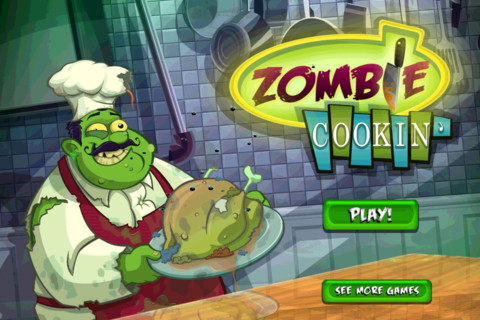 zombie cookin Juegos de Halloween para iPhone: Zombie Cookin
