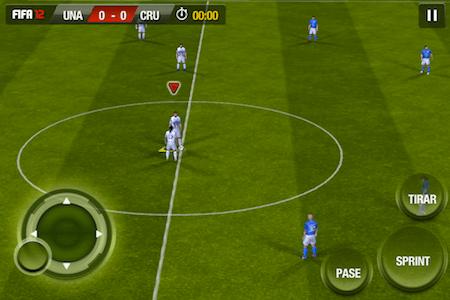 controles fifa 12 ios FIFA 12 para iOS, un juego para los amantes del fútbol [Reseña]