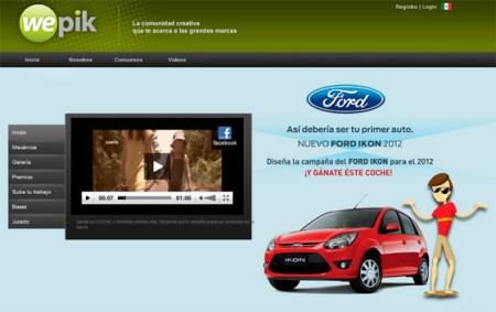Wepik te invita a crear una campaña que podría ser utilizada por Ford [Concurso]