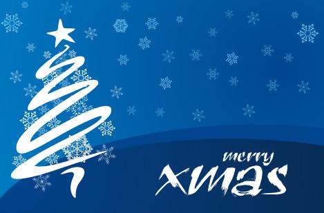 christmas greeting Colección de vectores de Navidad para tus diseños