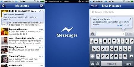 facebook messenger ios Las mejores aplicaciones sociales para iPhone que nos dejó el 2011
