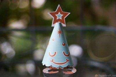 paper toy arbol Colección con los mejores Paper Toys para Navidad