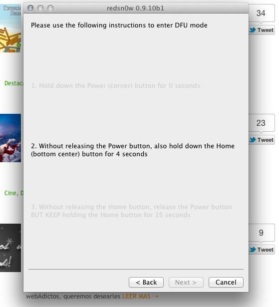 redsnow jailbreak ios Cómo realizar Jailbreak Untethered para iOS 5.0.1(iPhone 4, 3GS, iPad 1e iPod Touch) con Redsn0w