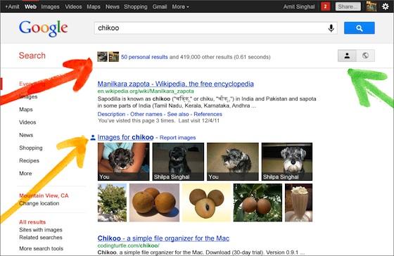 Google search plus your world Google personaliza las búsquedas en su motor gracias a Google+
