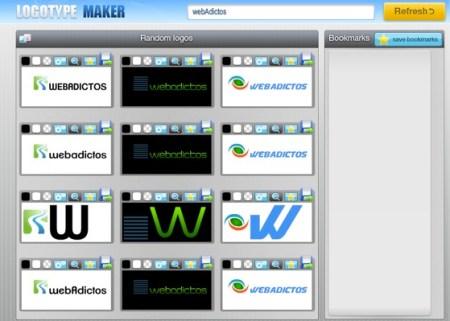 Crea logos para tu empresa con Logotype Maker