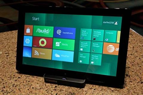 tablet windows 8 Presentación del Windows 8 [CES 2012]