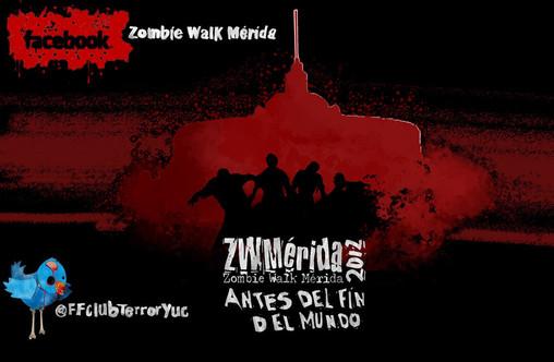 zombie walk mid Zombie Walk Mérida 2012, la marcha zombie de nuevo en el sureste mexicano