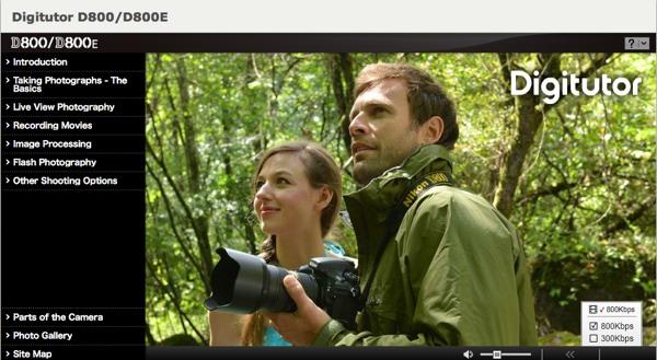 Digitutor nikon Aprende a usar tu cámara Nikon con un curso en línea