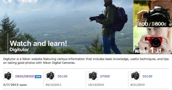 curso en linea nikon digitutor Aprende a usar tu cámara Nikon con un curso en línea