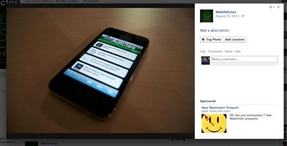 facebook visor imagenes Facebook modifica de nueva cuenta su visor de fotos