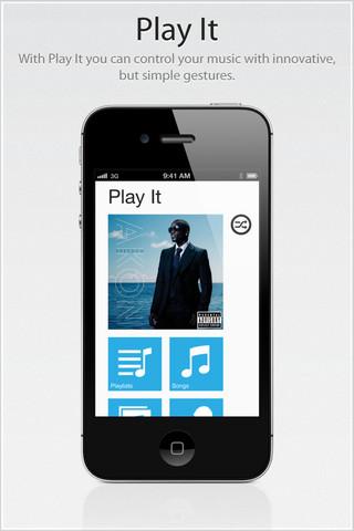Play It, un reproductor de música un poco diferente en tu iPhone o iPad [Reseña]