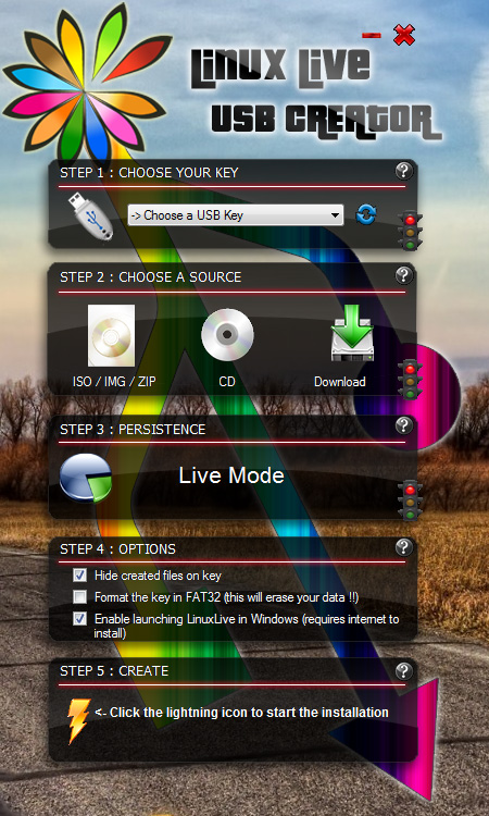 winliveusb2 Instalar XBMC Live en una computadora para bootear sin SO