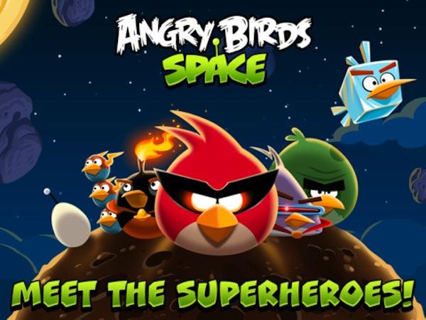 Angry Birds Space disponible para descargar