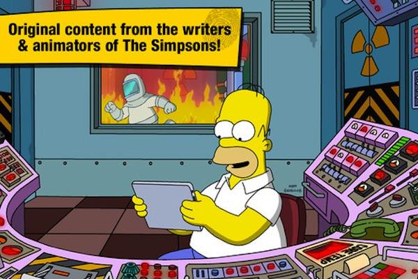 El juego The Simpsons: Springfield llega a iOS de la mano de Electronics Arts