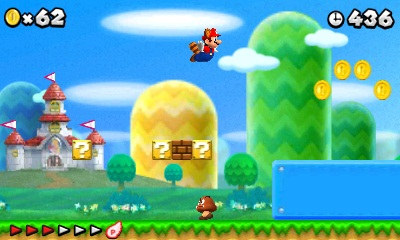 New Super Mario Bros. 2 Screenshot 1 Nintendo anuncia la salida de New Super Mario Bros 2