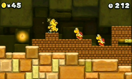 New Super Mario Bros. 2 Screenshot 4 Nintendo anuncia la salida de New Super Mario Bros 2