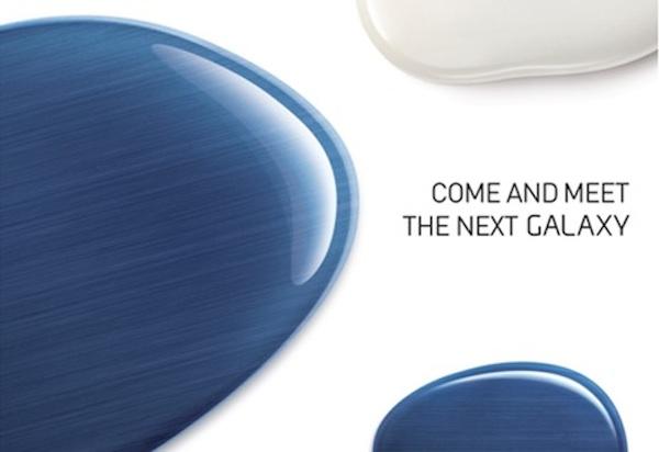 invitacion samsung nuevo galaxy Samsung presentará un nuevo Galaxy el próximo 3 de mayo